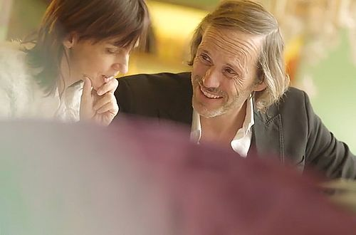 Passionate about their work: Harald Margreiter und Christina Binder-Egger planning together.