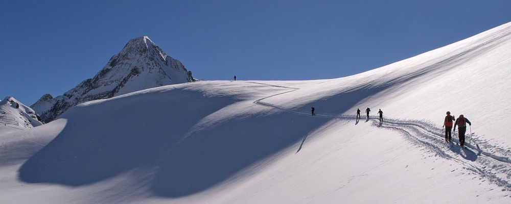 The Zillertal: An Eldorado for ski touring and perfectly groomed runs. Photo: Horst Ender