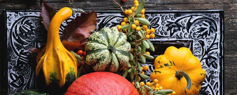 Herbstliche Kurbisparade im HeLeni Gourmet-Restaurant